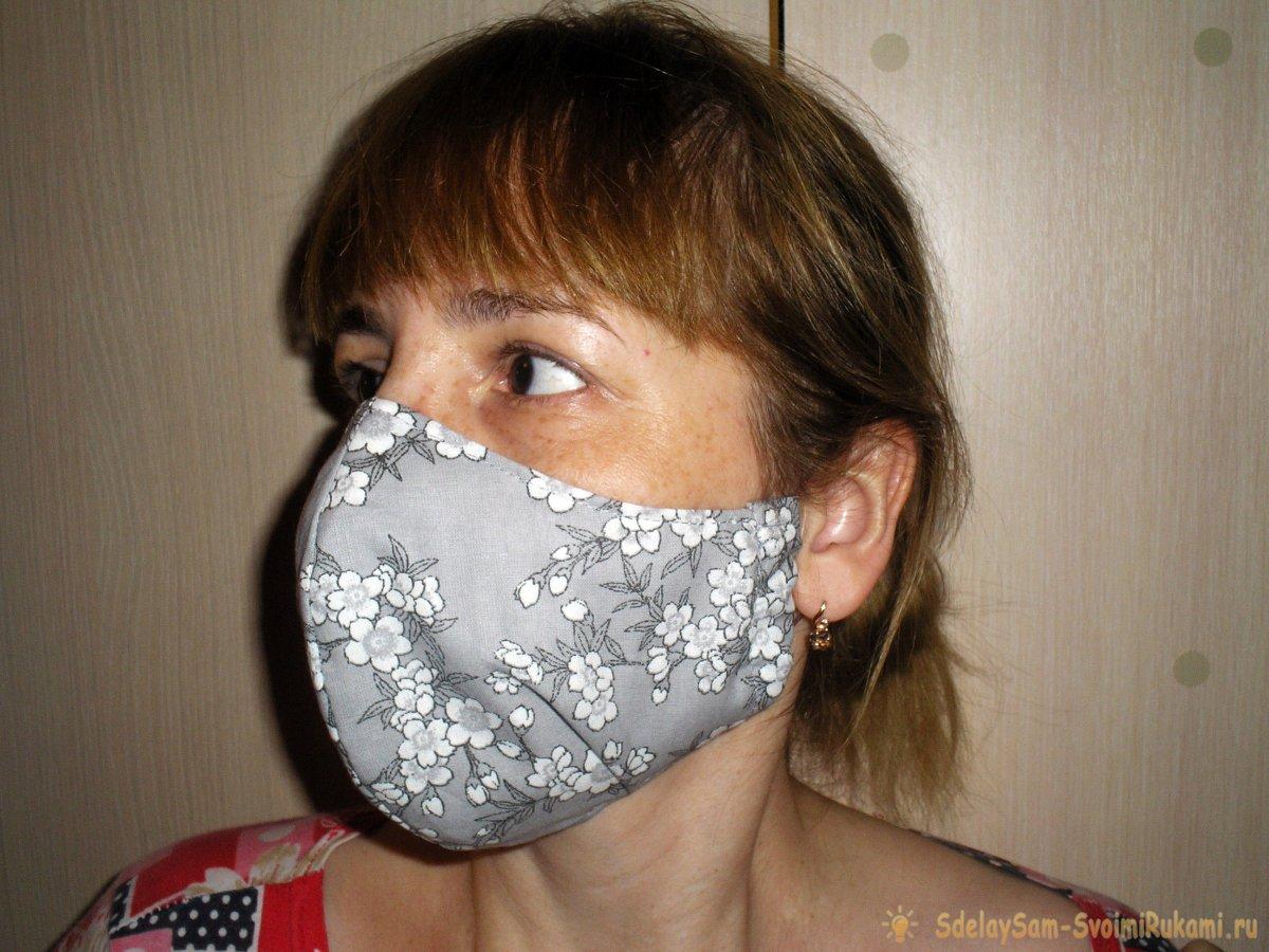 Мастер-класс по изготовлению маски многоразовой защитной
