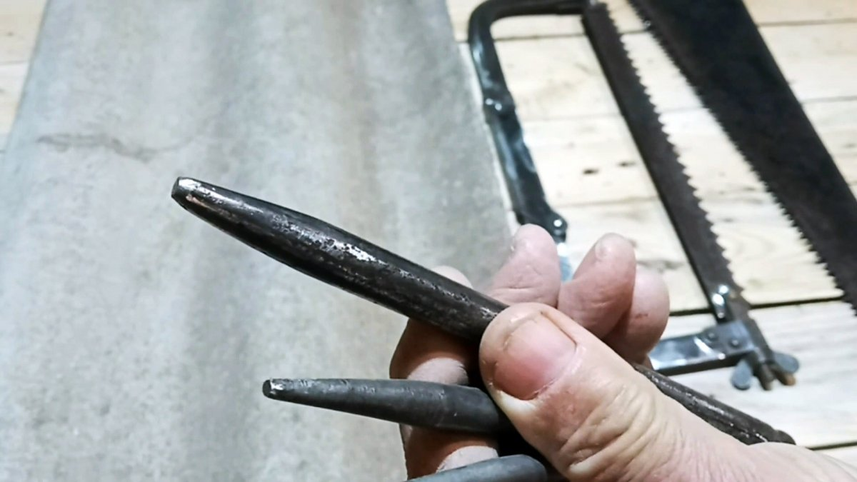Как быстро сделать отверстие без сверления в инструментальной стали
