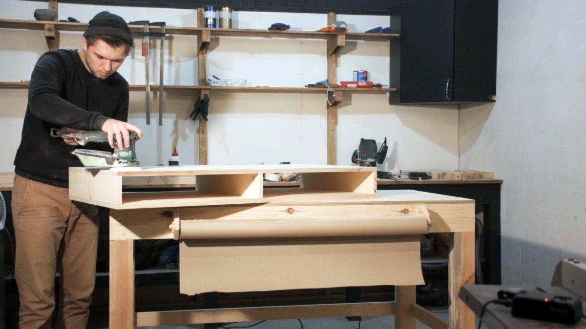 Как сделать компьютерный стол в скандинавском стиле