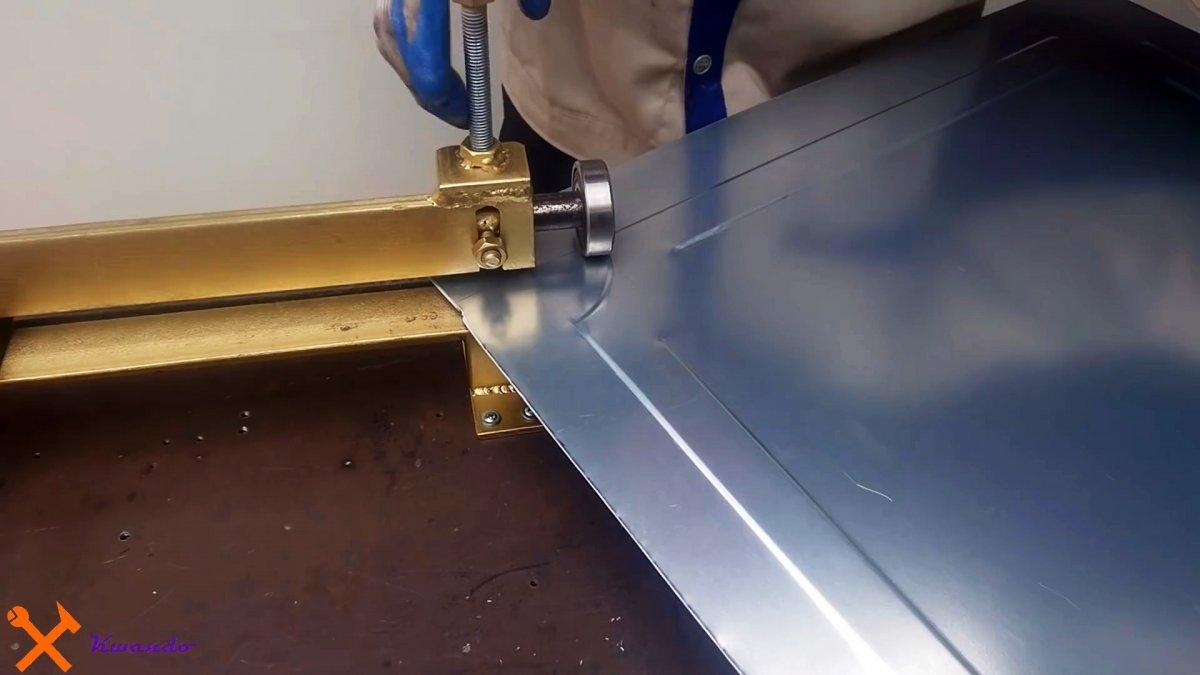Как сделать станок для создания ребер жесткости на листовом металле