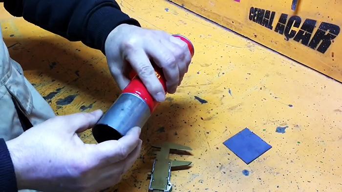 Как сделать компактную плитку под газовый баллончик