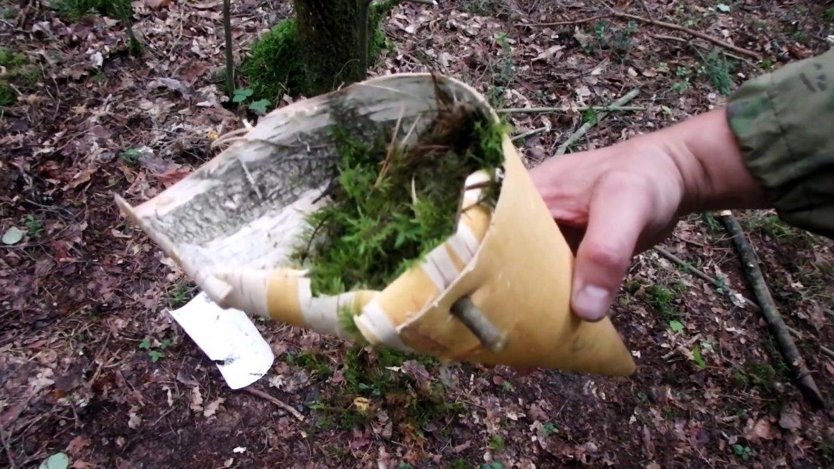 Как очистить и обеззаразить воду в лесу при отсутствии котелка или фляги