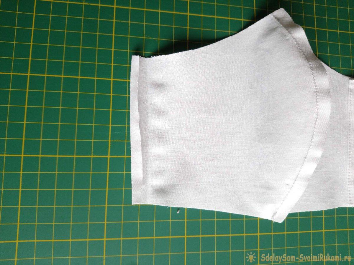 Мастер-класс: Многоразовая маска с карманом для фильтрующего слоя
