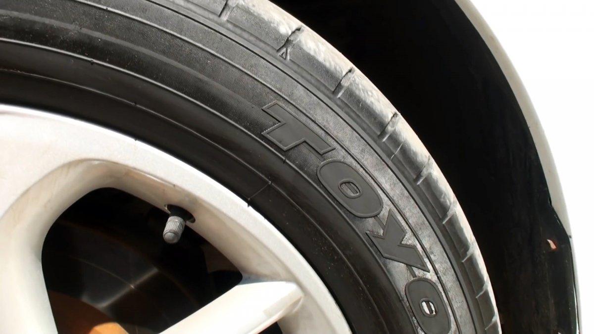 Чернение шин популярными методами, какой лучше?