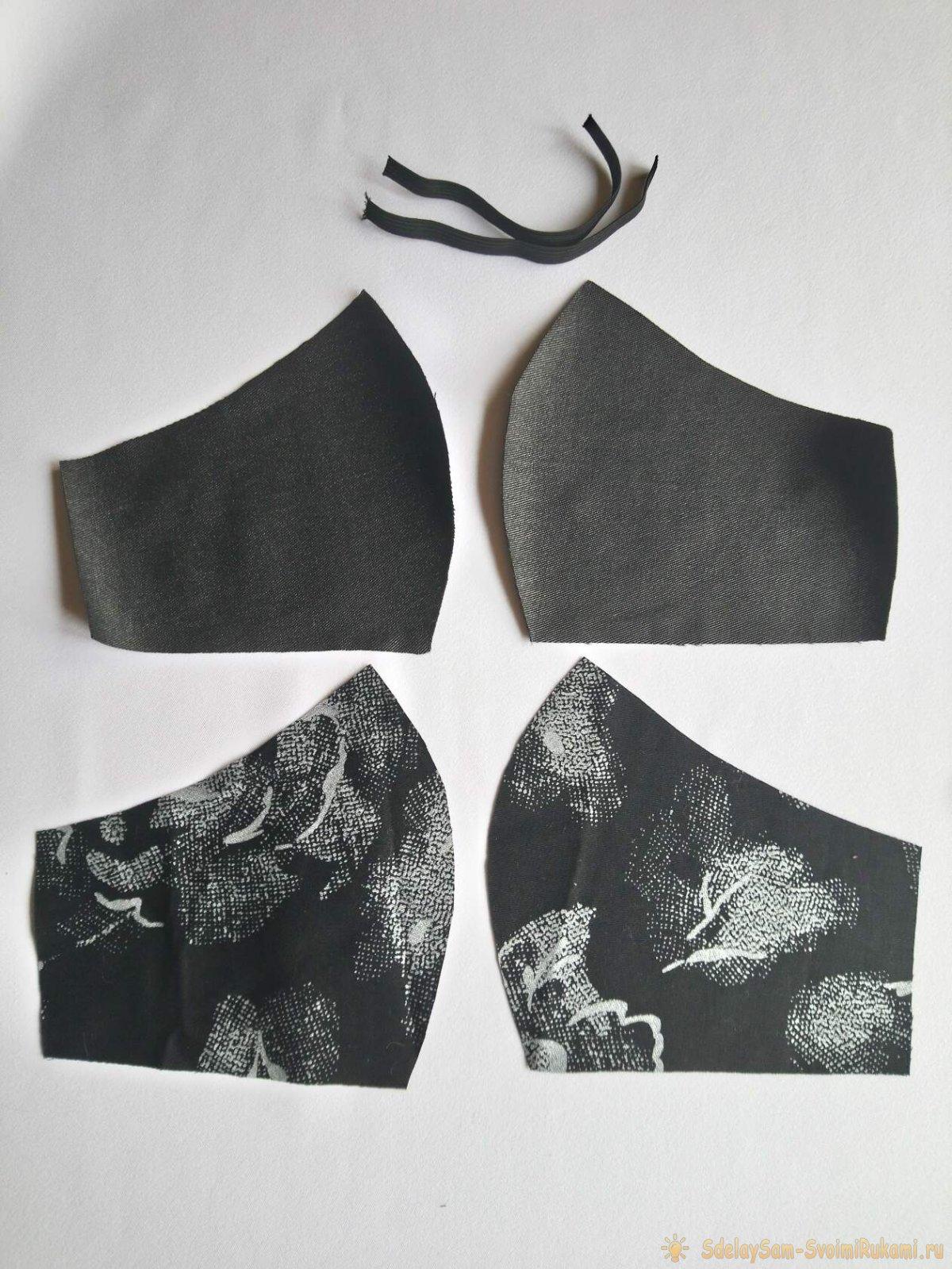 Мастер-класс по шитью простой  многоразовой анатомической маске