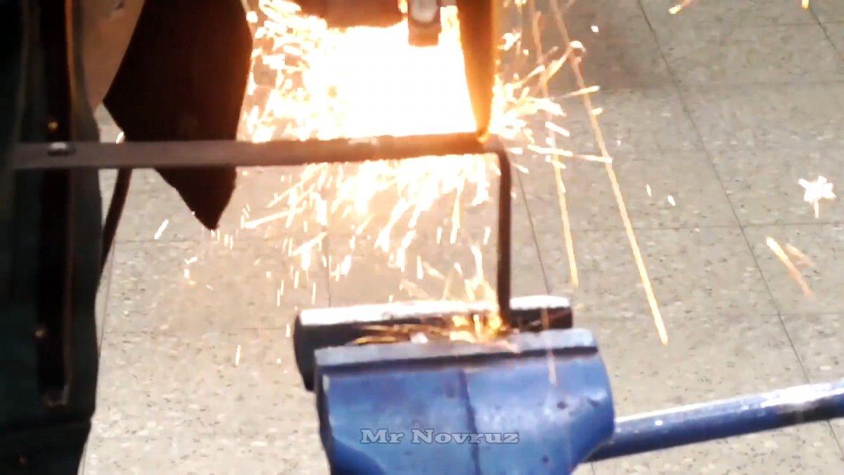 Как из куска трубы сделать инжекторную пропановую горелку