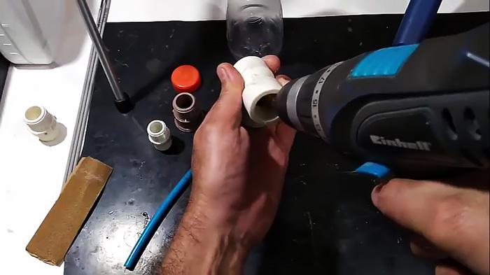 Делаем пенную насадку на садовый шланг