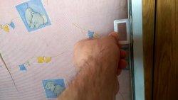 Теперь ручки москитной сетки не сломаются, полезная переделка