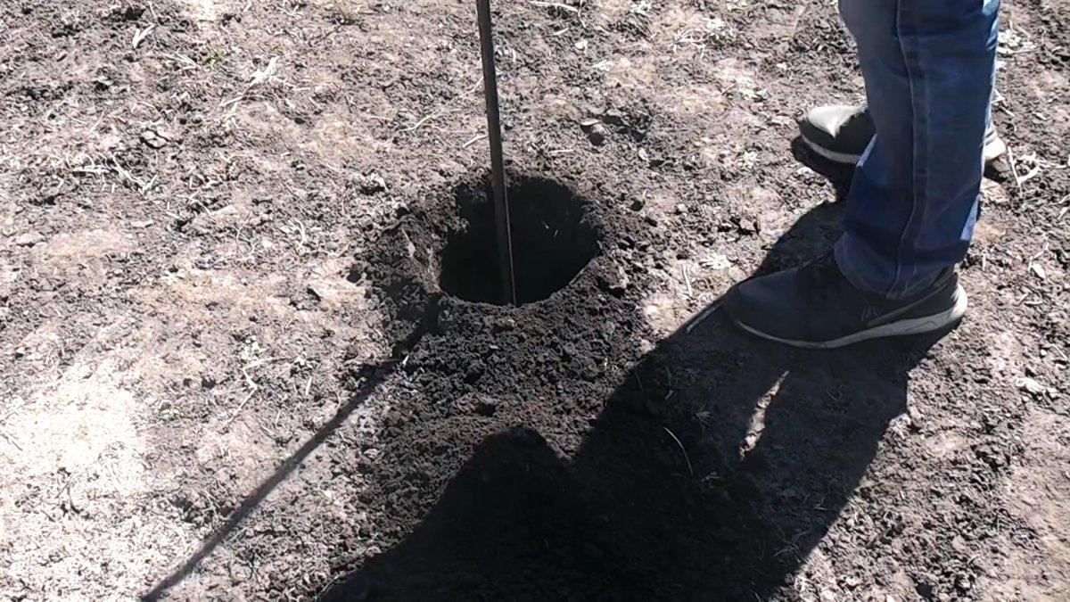 Как сделать садовый бур из хлама