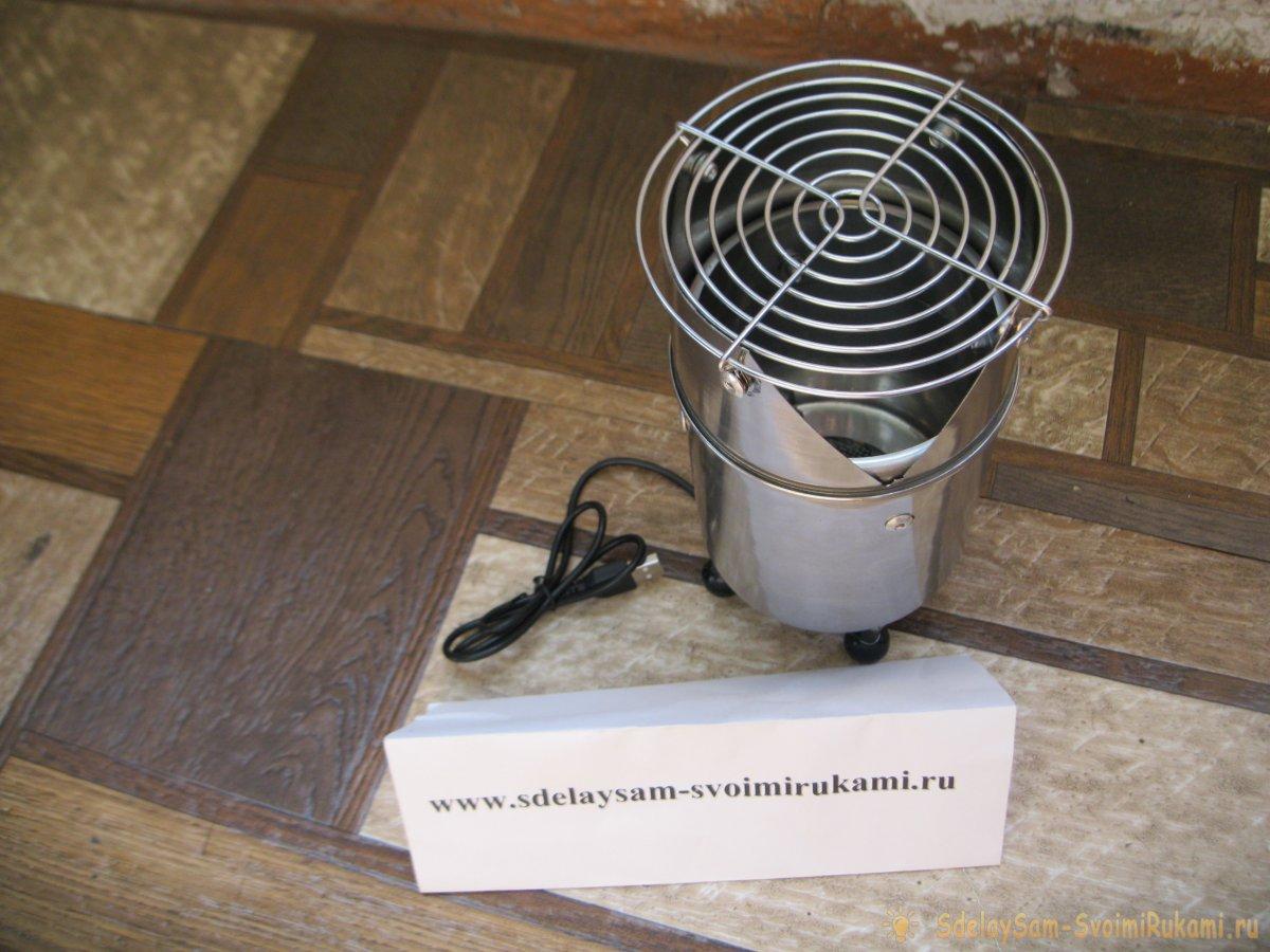 Как изготовить печку-щепочницу с активным поддувом