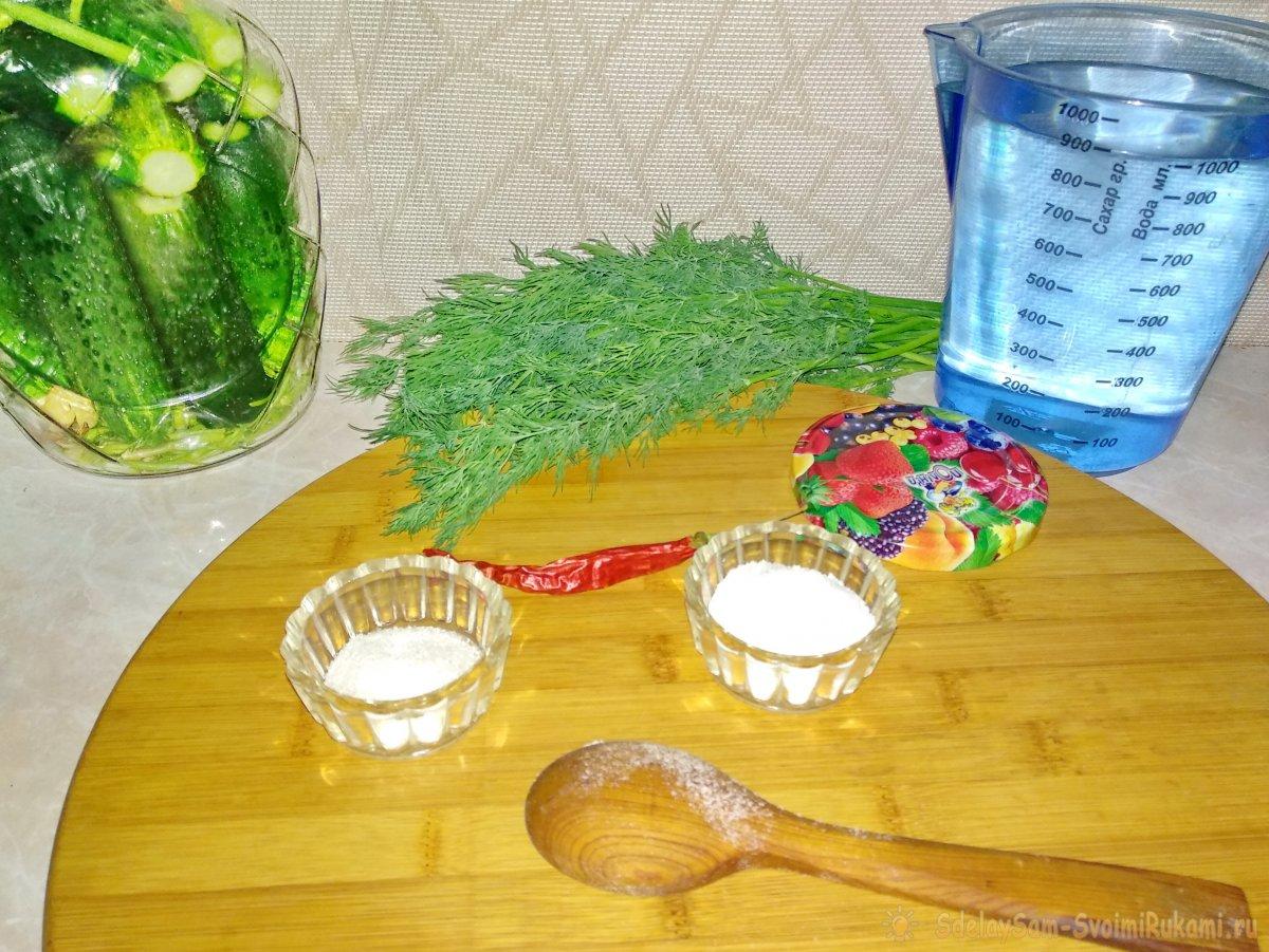 Малосольные огурчики быстрого приготовления - самый простой способ засолки