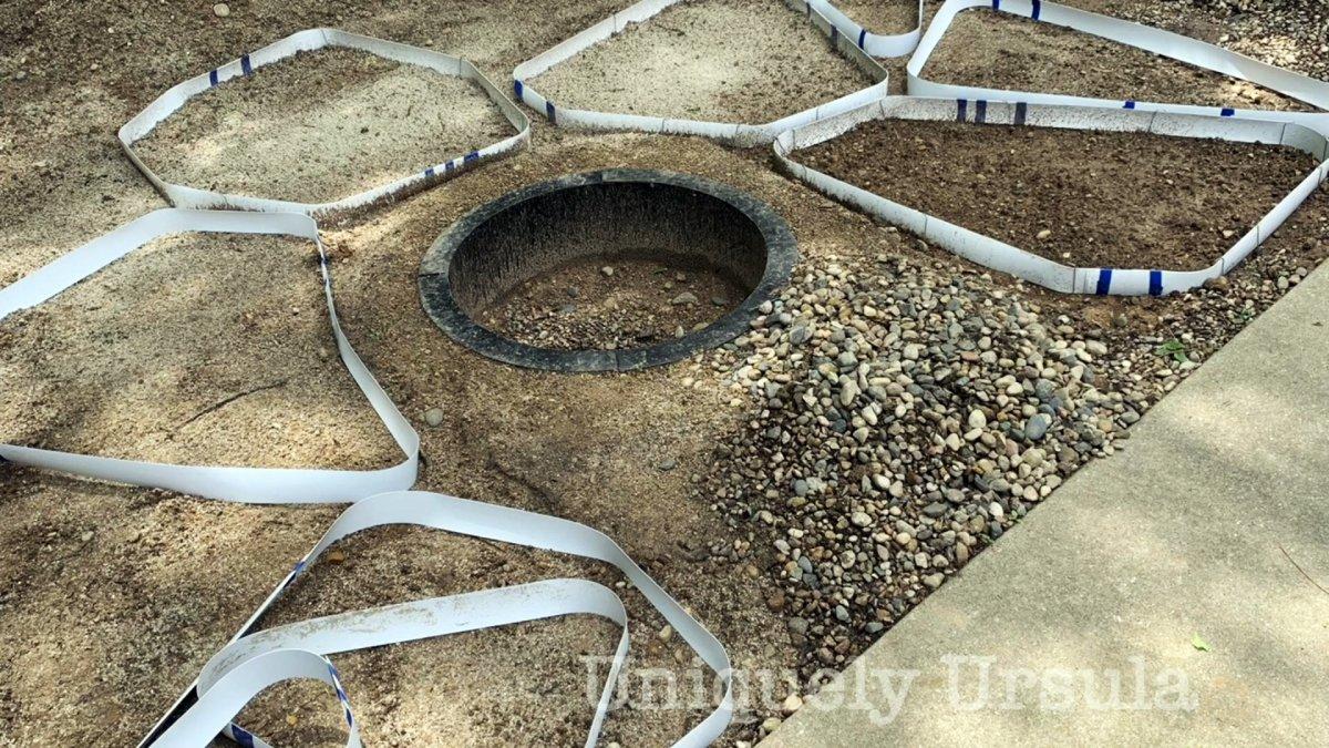 Как из цемента сделать имитацию плоских булыжников