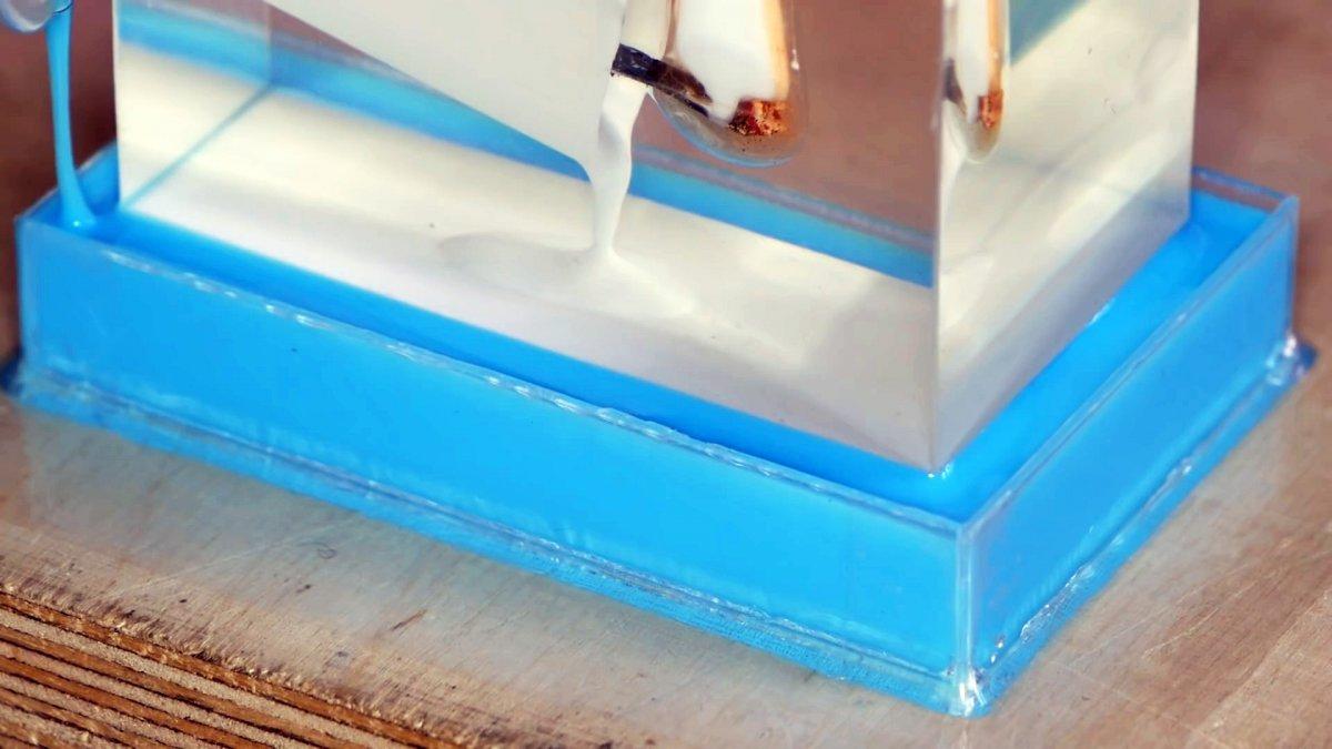 Как сделать крутой сувенир «горящая свечка»