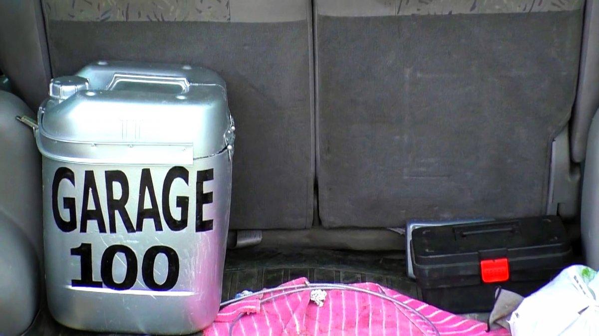 Нужная летом самоделка из ненужной канистры: Термоконтейнер