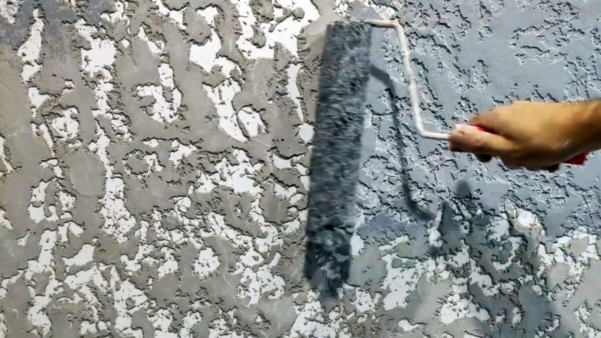 Как за копейки сделать штукатурку Гротто