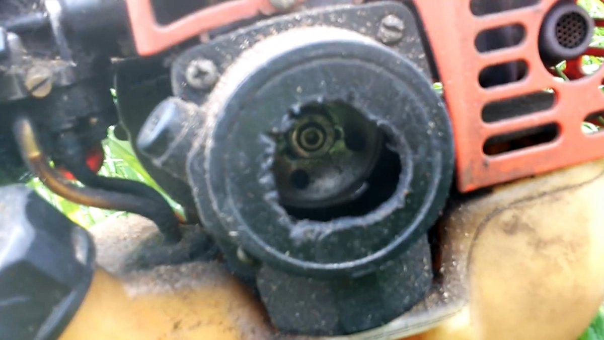 Как завести мотокосу если стартер сломался