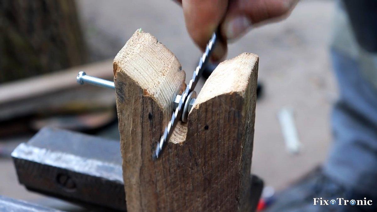 Как сделать насадку лобзик на дрель или шуруповерт