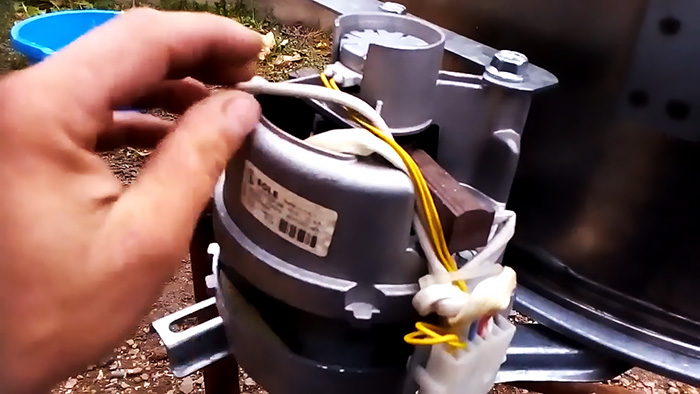 Как из стиральной машинки сделать мощную соковыжималку