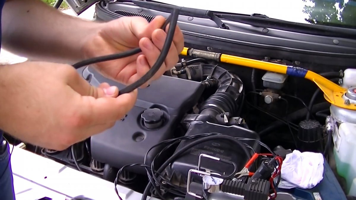 Как просто проверить и обнаружить подсос воздуха на автомобиле