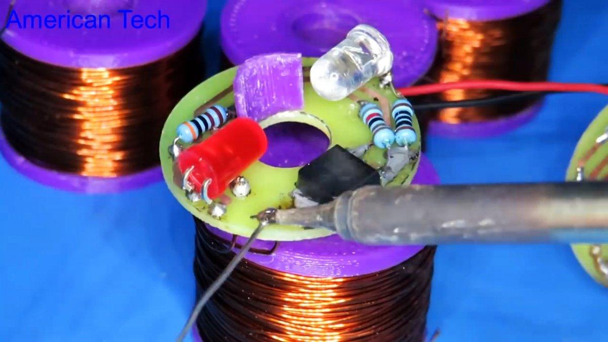 Как сделать удивительный электромагнитный ускоритель