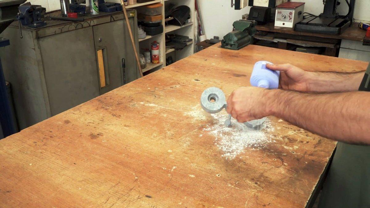 Как отливать качественные алюминиевые болванки для гриндера