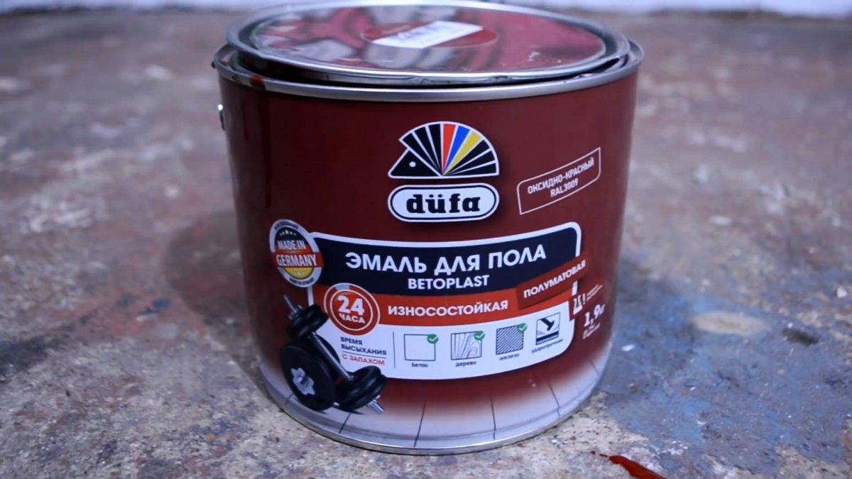Как восстановить и покрасить осыпающийся бетонный пол