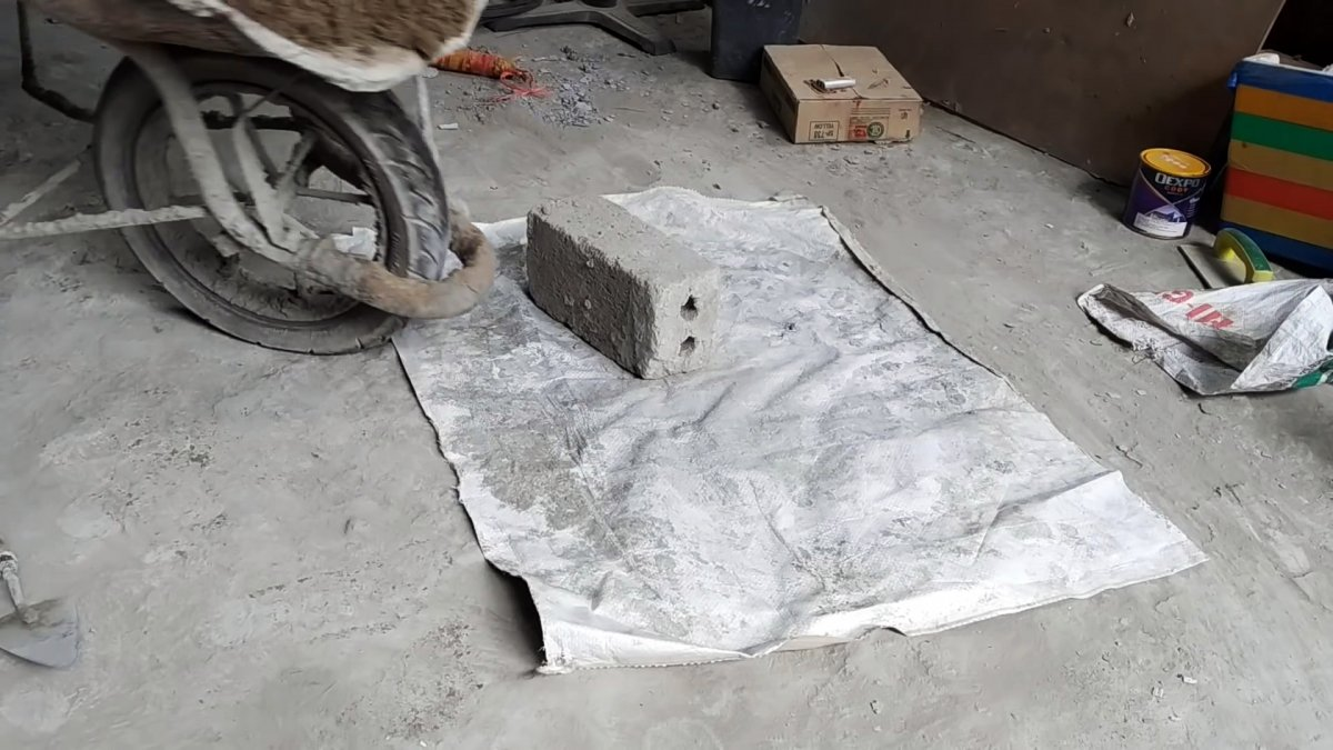 Как из обычного бетона сделать великолепную садовую фигуру