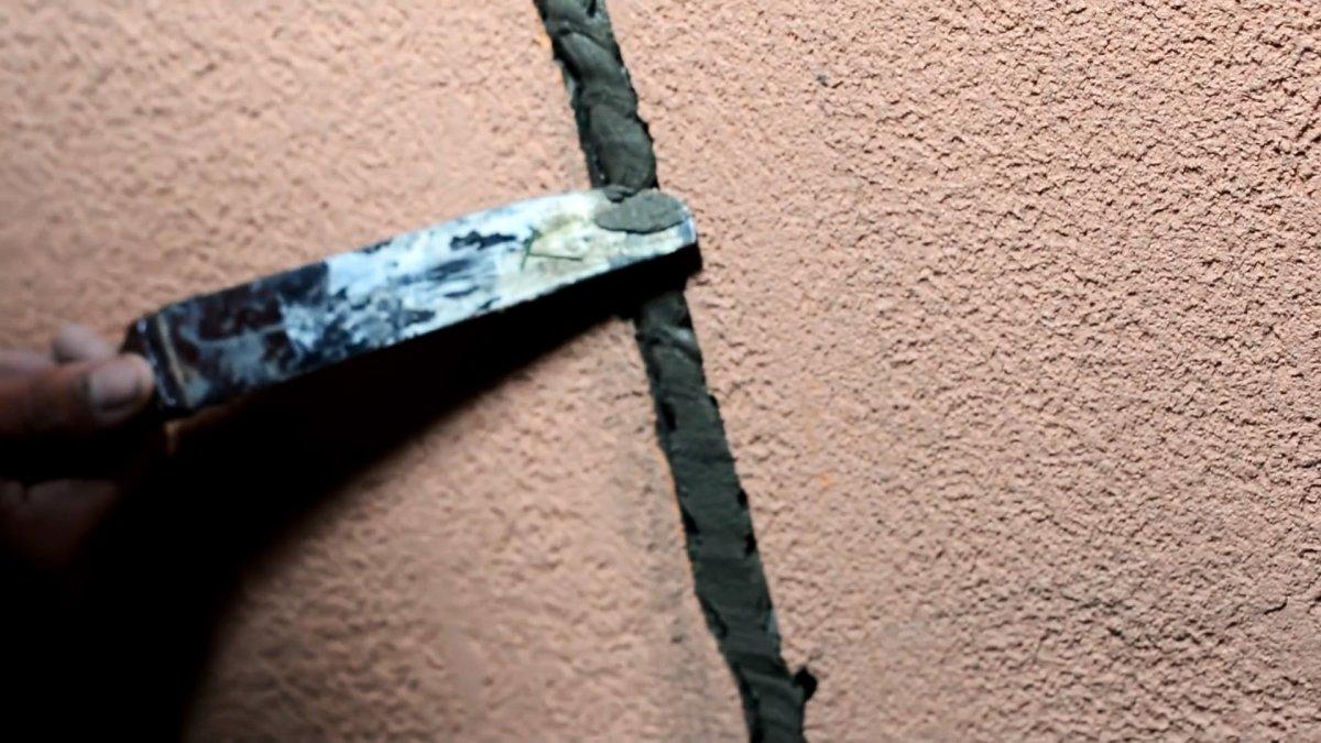 Как заделать трещину в фасаде раз и навсегда