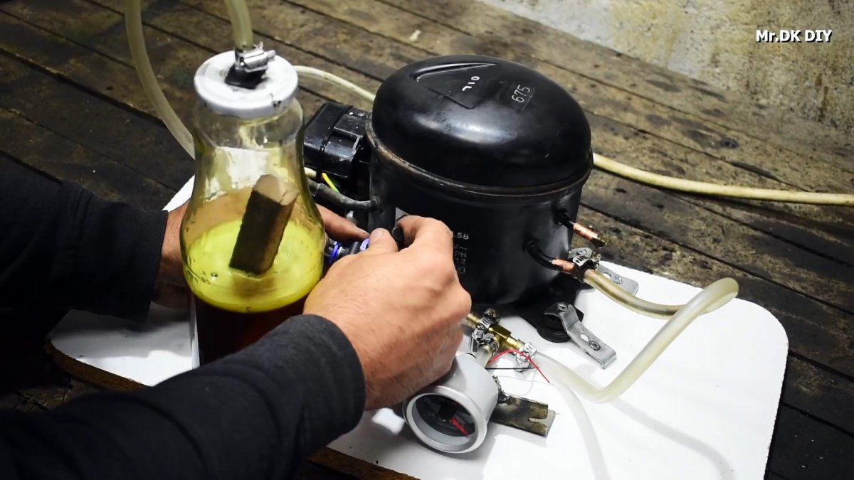 Как из компрессора холодильника сделать вакуумный насос, и где он может пригодиться