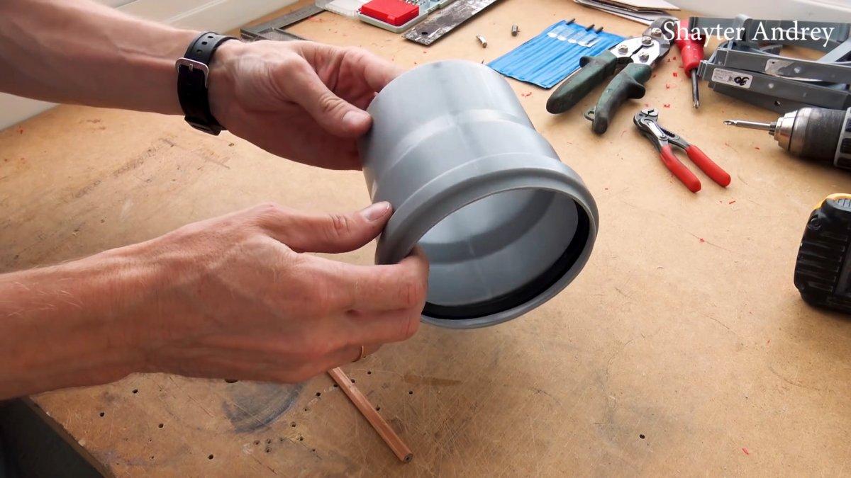Как сделать копеечный труборез из ПВХ трубы и для ПВХ труб