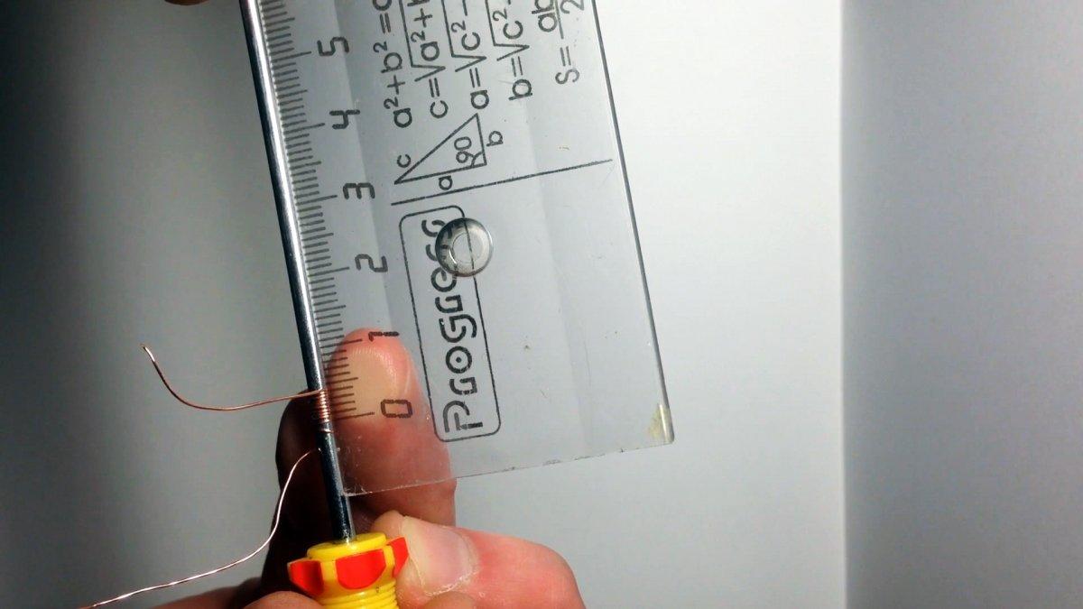 Как без микрометра точно узнать диаметр тонкой проволоки, лески