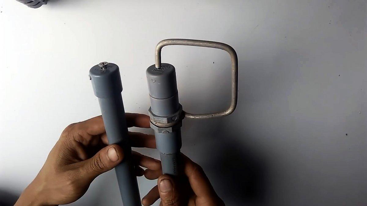 2 варианта копеечных распылителя из ПВХ труб своими руками