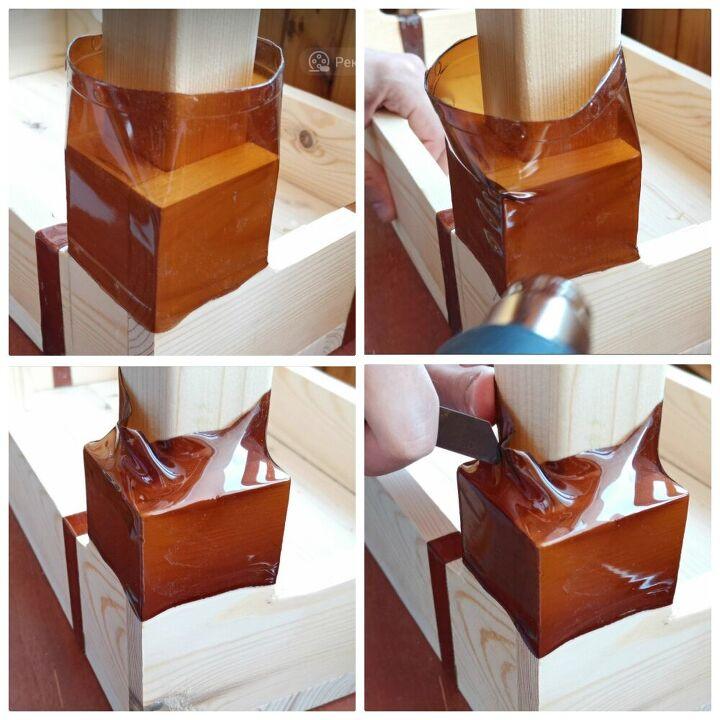 Как сделать стул без гвоздей и клея при помощи пластиковых бутылок
