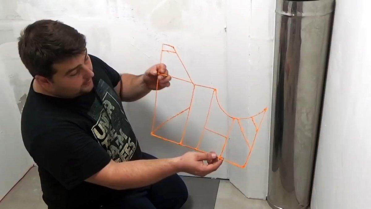 Оказывается 3D-ручка это просто находка для любого плиточника