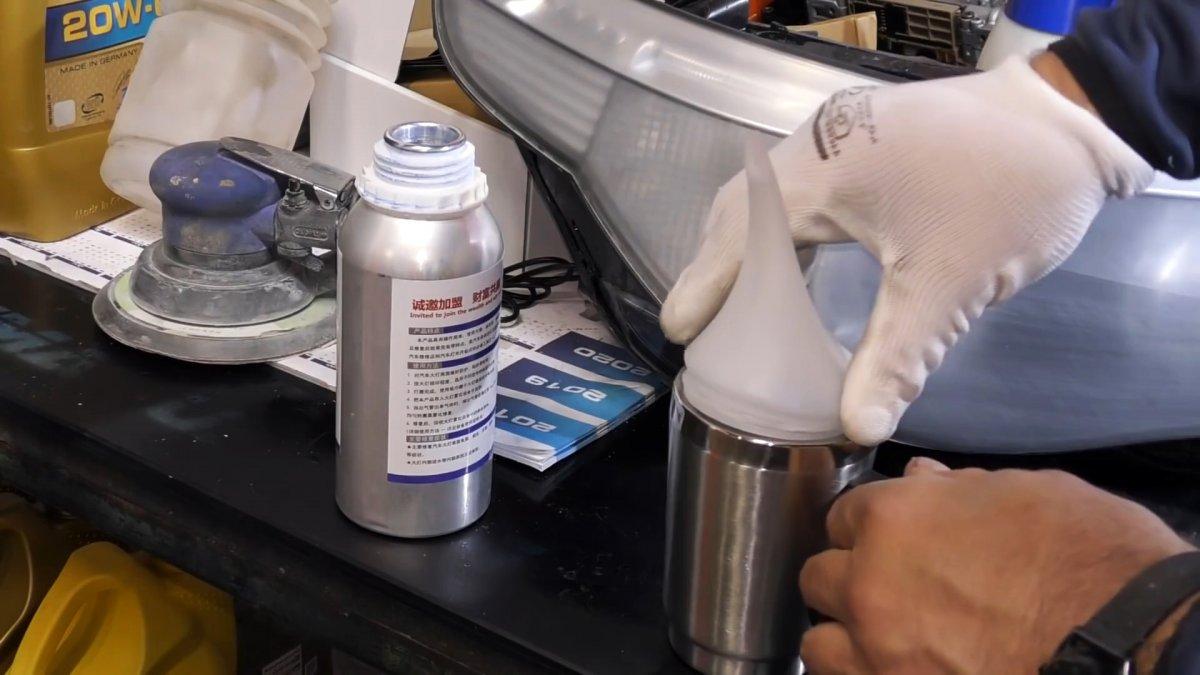 Химическая полировка фар доступна каждому. Все элементарно просто и быстро, показываем