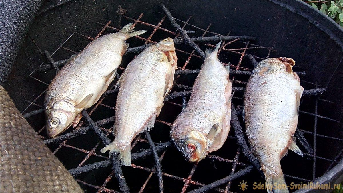 Делаем коптильню из бочки и готовим рыбу как в гастрономах СССР