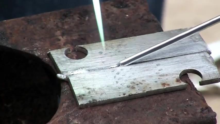 Надежный метод пайки алюминия, меди, стали без сварки
