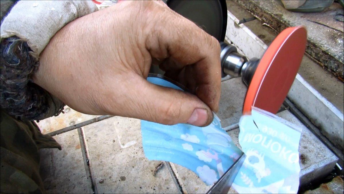 Как поставить зажимной патрон на вал наждака без токарки