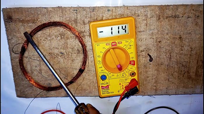 Как из мультиметра сделать металлоискатель за 5 минут