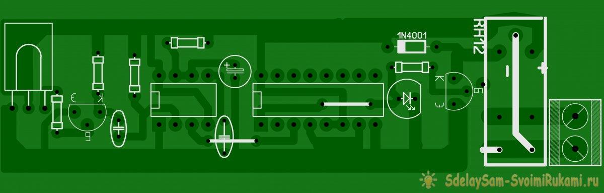 Как собрать схему для управления нагрузкой при помощи любого пульта ДУ