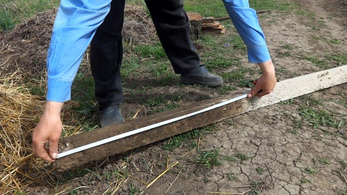 Как в одиночку вытащить бетонный столб из земли