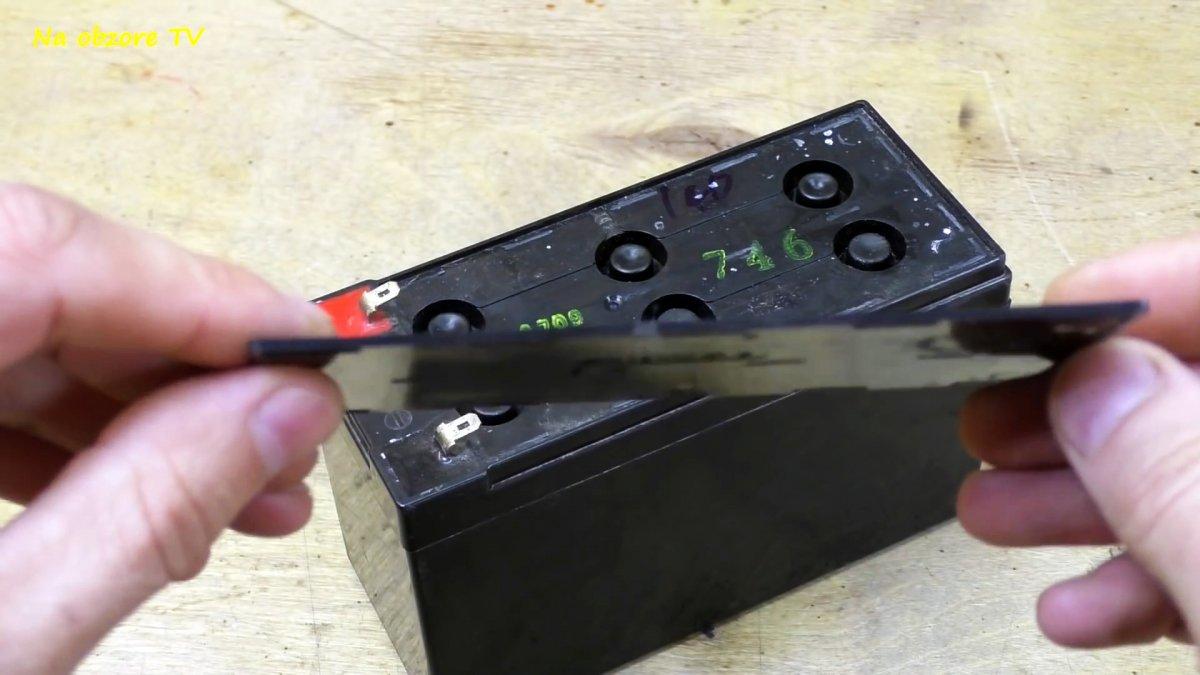 Неплохая идея по использования старого аккумулятора