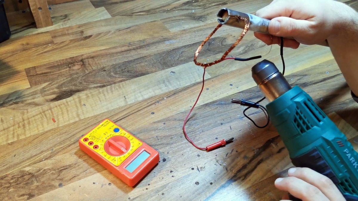 Как быстро собрать металлоискатель из китайского мультиметра