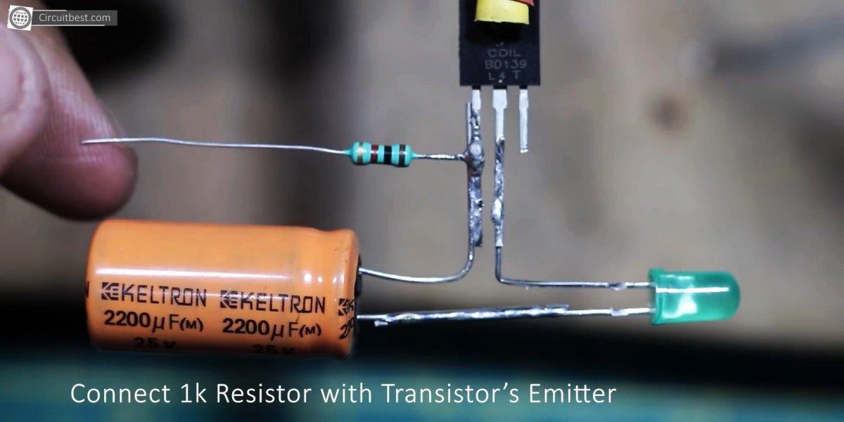 Как всего на одном транзисторе сделать мощный LED стробоскоп