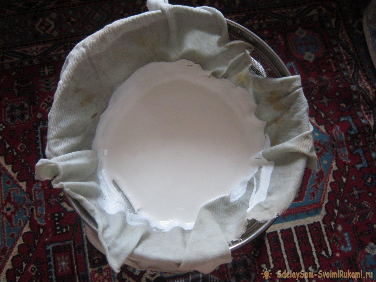 Как приготовить клей из творога