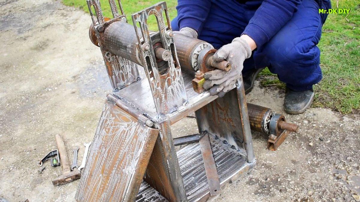 Как сделать трубогиб из роторов от сгоревших электромоторов
