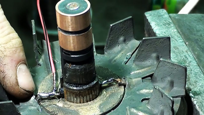 Как заменить токосъемные кольца ротора генератора