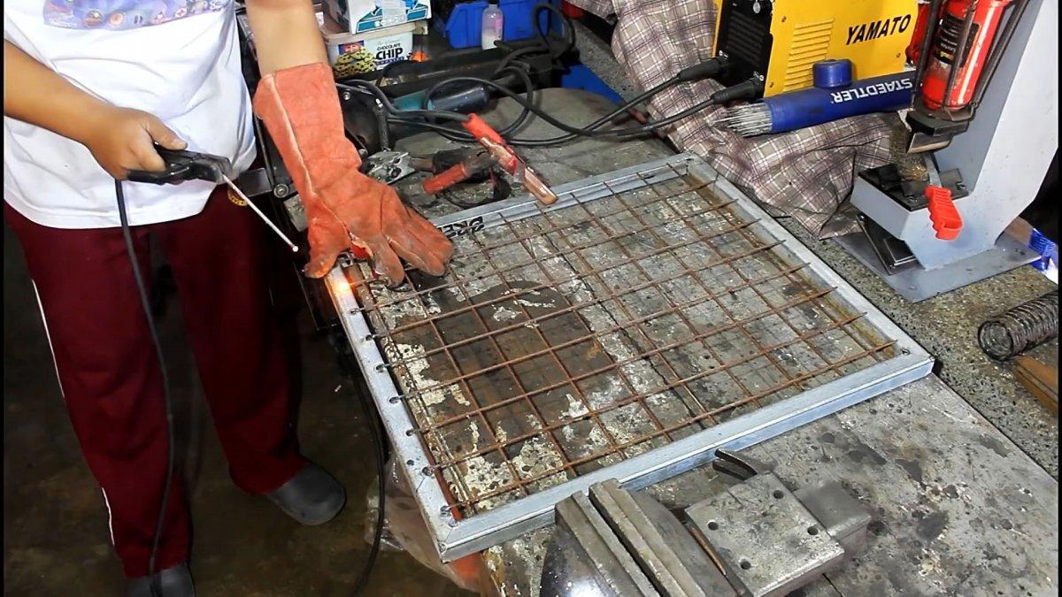 Как сделать вибросито с двигателем от стиралки для отсева песка