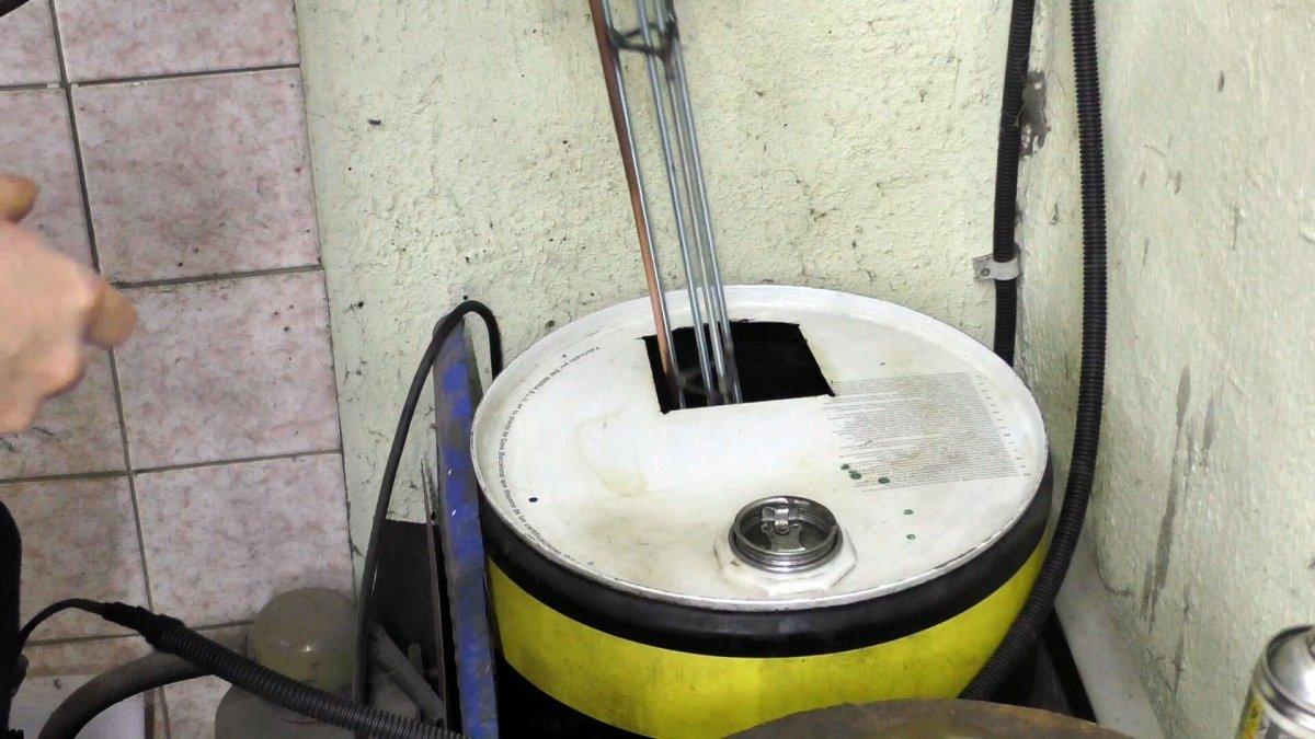 Как организовать автоматическую подачу масла для печи на отработке