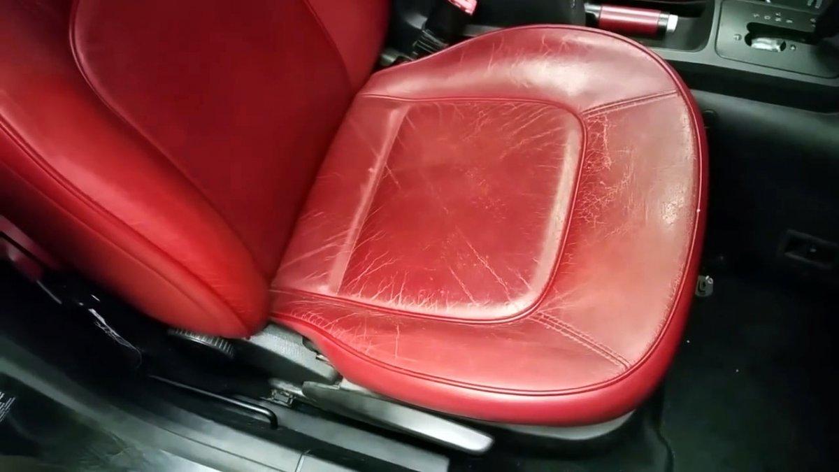 Как по-быстрому восстановить кожаные сидения